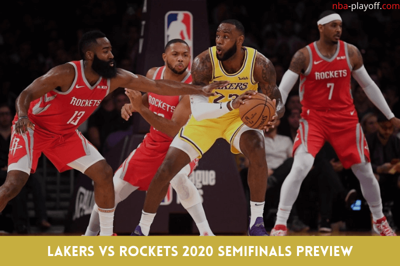 Lakers vs Rockets 2020 Semifinals Preview