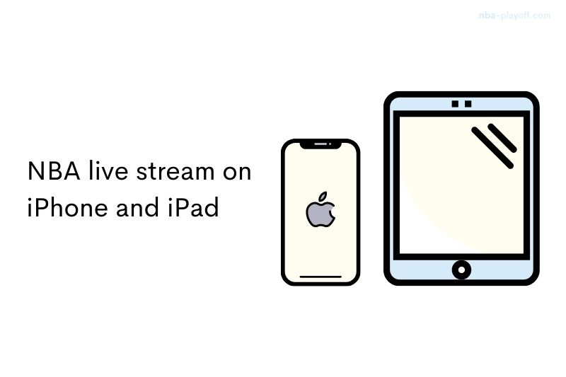 NBA live stream on iPhone and iPad